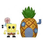 Funko POP! Spongebob - Spongebob w/ Pineapple Vinyl Figure