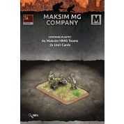 Flames of War: Maksim MG Company (6 teams Plastic)