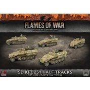 Flames of War: Sd Kfz 251/C Transport (Plastic)