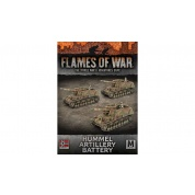 Flames of War: Hummel 15cm SP Artillery Battery