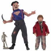 Goonies - Sloth & Chunk 2 Pack Clothed Action Figures 20cm