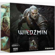 Heroes of the Witcher Series 1 Puzzle - GERALT
