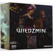 CDP 75561 Heroes Of The Witcher Series 2 Puzzle-Roach