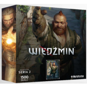 Heroes of the Witcher Series 2 Puzzle - ZOLTAN CHIVAY