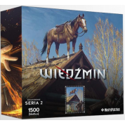 Heroes of the Witcher Series 2 Puzzle - ROACH
