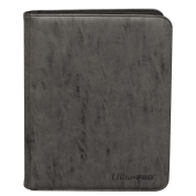 UP - Zippered Suede 9-Pocket Premium PRO-Binder - Jet