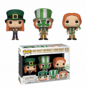 Funko POP! Harry Potter S5 - Fred, George, Ginny 3-pack Vinyl Figures 10cm ECCC 2019 Limited
