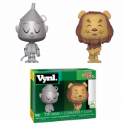 Funko VNYL Wizard of Oz - Lion & Tin Man Vinyl Figures ECCC 2019 Limited