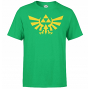 Nintendo Zelda Triforce Mens Green T-Shirt - L