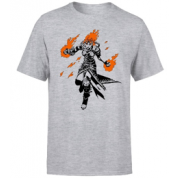 Magic The Gathering - Chandra Character Art T-Shirt - Grey - L