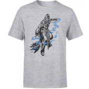Magic The Gathering - Jace Character Art T-Shirt - Grey - XL