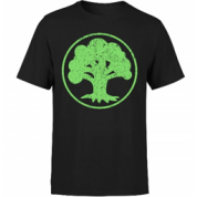 Magic The Gathering - Mana Green T-Shirt - Black - L