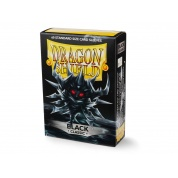 Dragon Shield 60 Classic - Black (60 Sleeves)