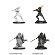 D&D Nolzur's Marvelous Miniatures - Female Human Paladin (6 Units)
