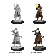 D&D Nolzur's Marvelous Miniatures - Female Elf Cleric (6 Units)