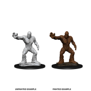 D&D Nolzur's Marvelous Miniatures - Clay Golem (6 Units)