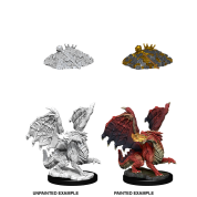 D&D Nolzur's Marvelous Miniatures - Red Dragon Wyrmling (6 Units)