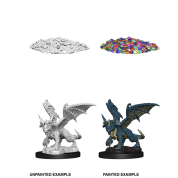 D&D Nolzur's Marvelous Miniatures - Blue Dragon Wyrmling (6 Units)