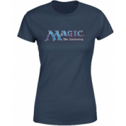 Magic The Gathering - 93 Vintage Logo Women's T-Shirt - Navy - M