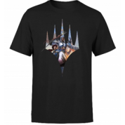 Magic The Gathering - Key Art with Logo T-Shirt - Black - L