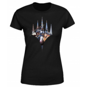 Magic The Gathering - Key Art With Logo Women's T-Shirt - Black - S