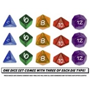 Sentinel Comics: The Roleplaying Game Dice Set
