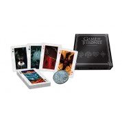 Game of Thrones Playing Card Collector Set with Dealer Coin - EN