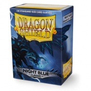 Dragon Shield Standard Sleeves - Night Blue (100 Sleeves)