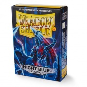 Dragon Shield Standard Sleeves - Night Blue Xao (60 Sleeves)