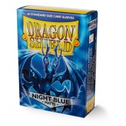 Dragon Shield Standard Matte Sleeves - Night Blue Xon (60 Sleeves)