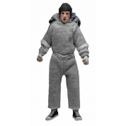 Rocky - Rocky Clothed in Sweatsuite 20cm Retro Style Action Figure
