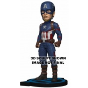 Avengers: Endgame - Head Knocker - Captain America 20cm