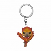Funko POP! Keychain Harry Potter - Fawkes Vinyl Figure 4cm