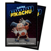 UP - Deck Protector Sleeves - Detective Pikachu - Mr. Mime (65 Sleeves)