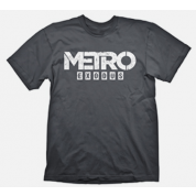 Metro Exodus T-Shirt Logo Grey, XL
