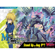 Cardfight!! Vanguard V - My Glorious Justice Extra Booster Display (12 Packs) - EN