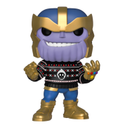 Funko POP! Marvel Holiday - Thanos Vinyl Figure 10cm