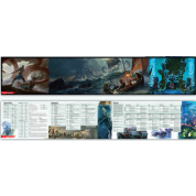D&D: Dungeon Master's Screen - Of Ships & The Sea - EN