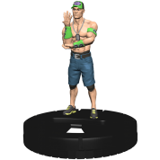 WWE HeroClix: John Cena Expansion Pack (4 Units) - EN