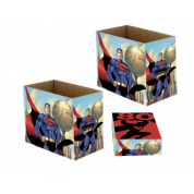 DC Comics: Superman 80 Comic Book Storage Box (5 units)