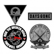 Days Gone Pin Set - Collection