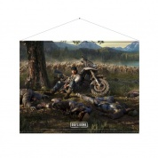 Days Gone Wallscroll - Cover Art