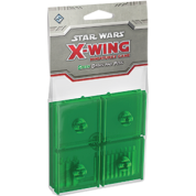 FFG - Star Wars X-Wing: Green Bases and Pegs Expansion Pack - DE