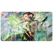 UP - War of the Spark Alternate Art Playmat Magic: The Gathering - Nissa
