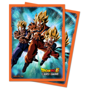 UP - Deck Protector Sleeves - Dragon Ball Super V3 (65 Sleeves)