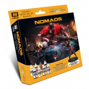 Infinity: Model Color Set: Infinity Nomads Exclusive Miniature - EN