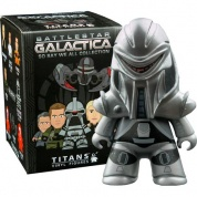 Titan Merchandise - Battlestar Galactica TITANS: So Say We All Collection CDU of 18 Vinyl Figures 8cm