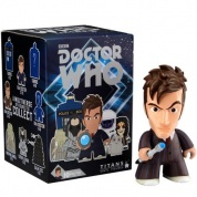 Titan Merchandise - Doctor Who TITANS: The 10th Doctor CDU of 20 Vinyl Figures 8cm