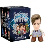 "Titan Merchandise - Doctor Who TITANS: 11th Doctor: The ""Geronimo!"" Collection CDU of 20 Vinyl Figures 8cm"