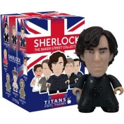Titan Merchandise - Sherlock TITANS: The 221B Baker Street Collection CDU of 20 Vinyl Figures 8cm